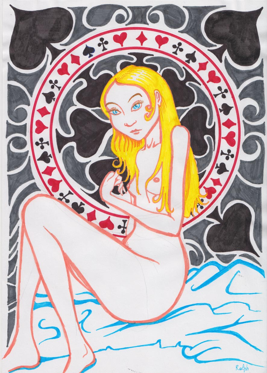 Dame de pique dans Illustration damedepique